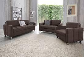 sofa garnitur 3 teilig sit more 3 tlg garnitur kaufen otto