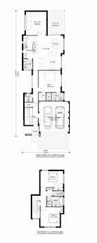 narrow house plans for narrow lots two storey house plans narrow block fresh narrow lot house plans