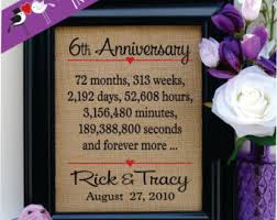 6th wedding anniversary gift ideas 6th wedding anniversary gift b35 in pictures selection m95
