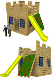 fun fortress playhouse plan castle playhouse playhouses and castles