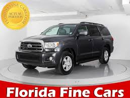 used toyota new and used toyota sequoia for sale in miami fl u s news