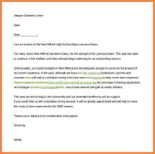 8 fundraising letter templates recommendation letters