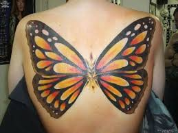 big wings monarch butterfly design on back golfian com