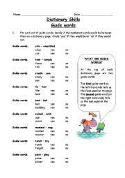 guide words worksheet free worksheets library download and print