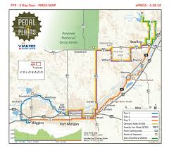 Wray Colorado Map History Pedal The Plains