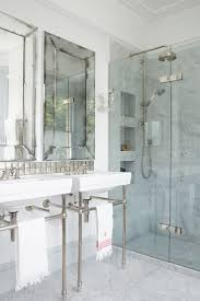 Bathroom Glass Shower Ideas by Best 20 Carrara Marble Bathroom Ideas On Pinterest Marble