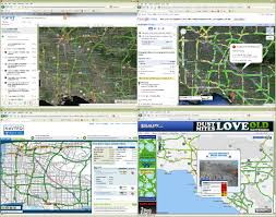 Los Angeles Traffic Map by La Driving Freeway Names And Traffic Lingo Made Easy