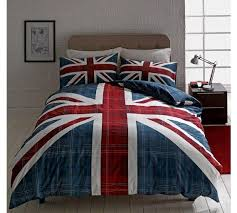 Duvets Argos Buy Home Check Union Jack Multicoloured Bedding Set Double At