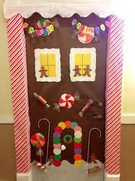 gingerbread house door decor class pinterest gingerbread