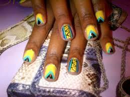 30 best bold geometric nail art images on pinterest pretty nails