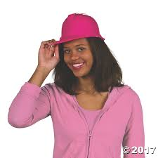 party city halloween hats pink construction hats