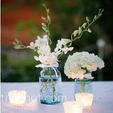 Mason Jar Centerpieces Wedding by Mason Jar Centerpieces With Candles Simple And Inexpensive
