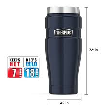 amazon com thermos stainless king 16 ounce travel tumbler