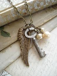 antique key necklace images Jewelry making skeleton key necklace antique keys and key necklace jpg