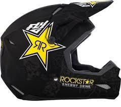 rockstar motocross helmet new 2018 fly racing elite rockstar motocross mx dirt bike riding helmet