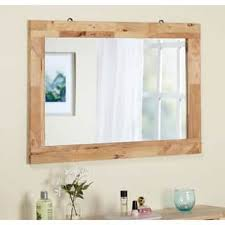 Wood Mirrors Bathroom Wood Mirrors For Less Overstock