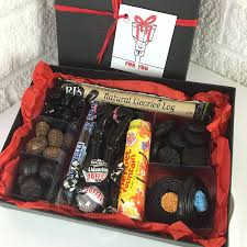 liquorice lovers tasting gift box by chocolate by cocoapod