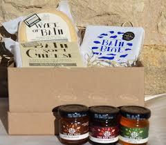 cheese gift box bath soft cheese company