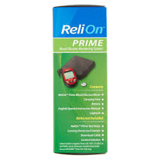 relion prime blood glucose monitoring system red walmart com