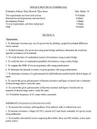 class 12 physics practical list bipolar junction transistor