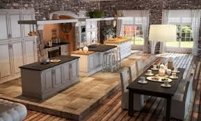 cuisine rustique blanche décoration cuisine rustique moderne blanche 88 denis