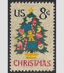 christmas needlepoint 1508 8 cent christmas needlepoint tree st used xf hipst