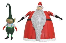 nightmare before select series 3 santa figure