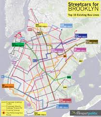 Miami Beach Bus Map Streetcars For Brooklyn A New Life The Transport Politic