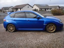 raised subaru impreza 370bhp forged subaru impreza wrx sti type uk hatchback in