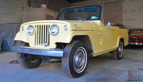 willys jeepster commando jeep jeepster commando convertible restored excellent condition