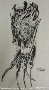 biomech freddy horror design