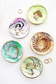 classic dish ring holder images Marbled clay trinket dish pinterest dishes tutorials and ring jpg