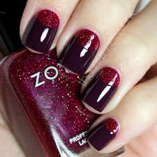 pretty nails to try half moon nail designs pretty designs