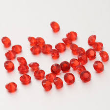 6mm 5000pcs glasses wedding table scatter decorations