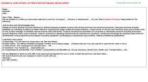 database developer job title docs