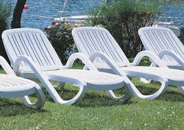 Plastic Chaise Lounge 12 In Seat Eden Resin Patio Chaise Lounge Chair With Arms Et U0026t