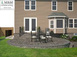 3d landscape design services in northern virginia m u0026m