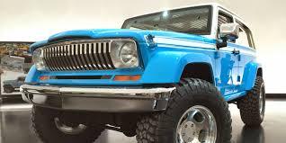 jeep cherokee chief blue jeep freak mania