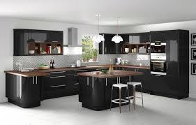idee cuisine ilot central bien idee cuisine avec ilot central 4 cuisine et bois