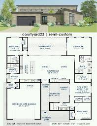 Contemporary House Floor Plan 292 Best Home Floor Plans Images On Pinterest House Floor Plans