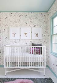 a lovely nursery featuring our painted stripe crib sheet stunning