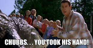 Happy Gilmore Meme - happy gilmore alligator by thesingleshot meme center