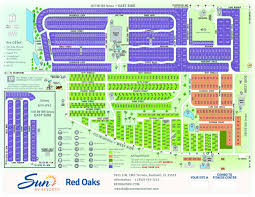 Southern Florida Map by Central Florida Rv Parks Red Oaks In Bushnell Fl Sun Rv