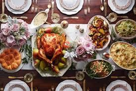 thanksgiving day 2017 dinner table ideas best dinner