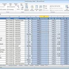 inventory spreadsheet examples it resume cover letter sample