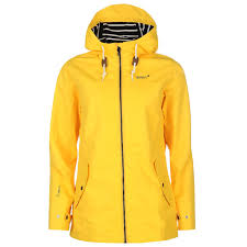 gelert womens coast jacket top coat waterproof high neck hooded