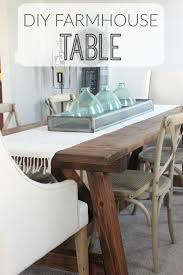holy cannoli we built a farmhouse dining room table diy farmhouse table inspired by restoration hardware created with easy to follow ana