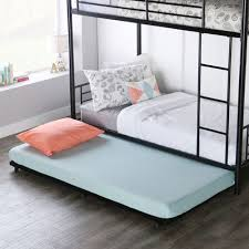 Trundle Bed Frame And Mattress Black Roll Out Trundle Bed Frame Pier 1 Imports