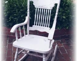 Pink Nursery Rocking Chair Vintage Nursery Rocking Chair Etsy