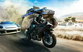 hd background the crew game chase race wild run wallpaper